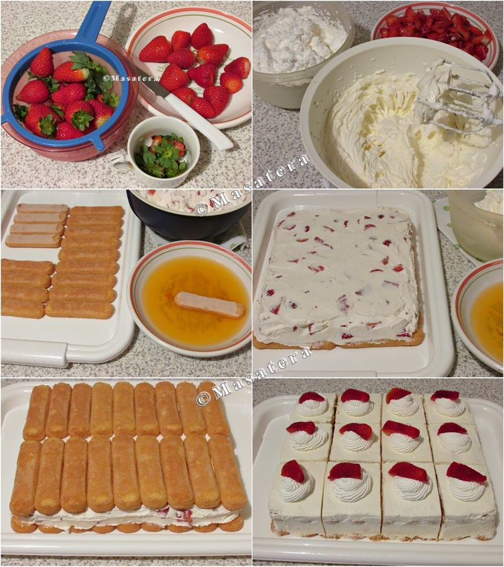 Sastojci: 500 g jagoda 120 g šećera u prahu 500 g mascarpone sira 1 limun - ocijeđeni sok 400 ml ocijeđenog soka naranče (može ...