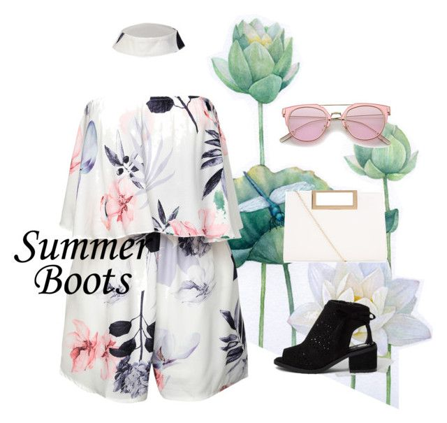 """""""Summer boots"""" by riskisaumi ❤ liked on Polyvore featuring New Look"""