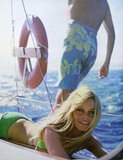 Brigitte Boating