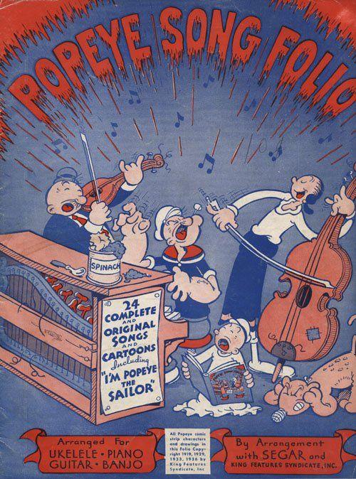 popeye sings