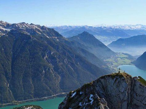 Grandiose Aussichten: Wandern am Tiroler Achensee | Komoot - Fahrrad- & Wander-App