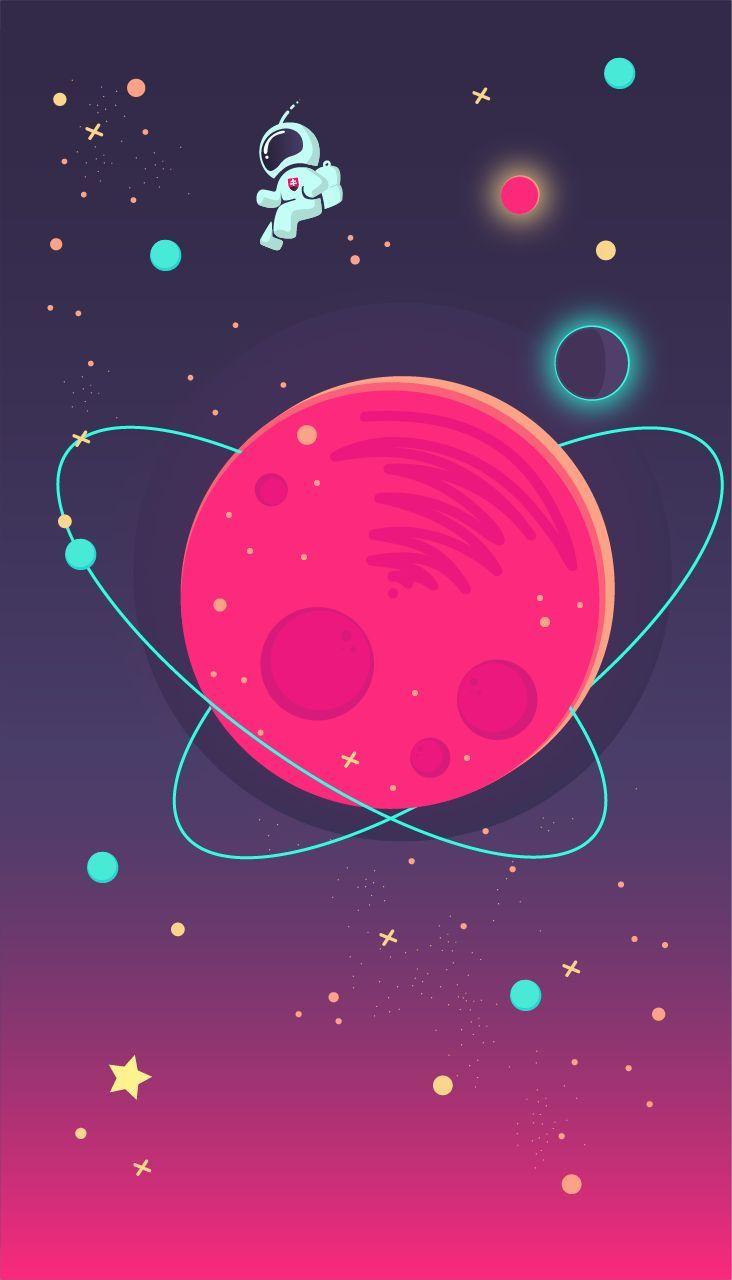 Iphone Wallpaper Space Iphone Wallpaper Im Pin Wallpaper Space Astronaut Art Iphone Wallpaper