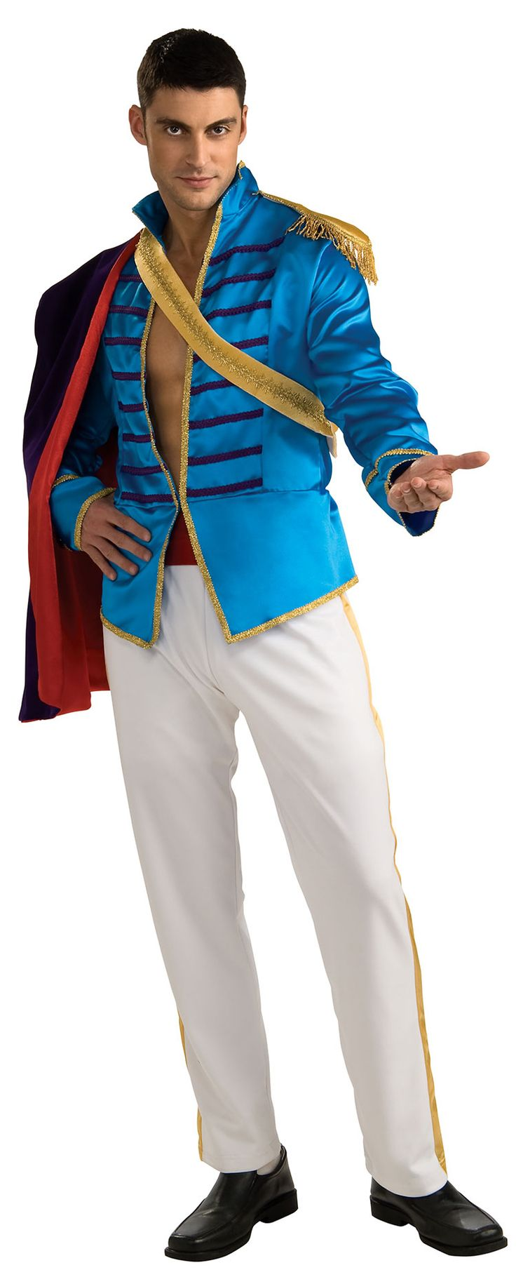 prince charming adult costume prince costumes - Prince Charming Halloween Costumes