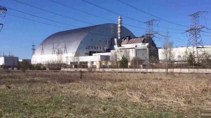 New Sarcophagus Chernobyl Nuclear   Chernobly (piripyat) in 2019