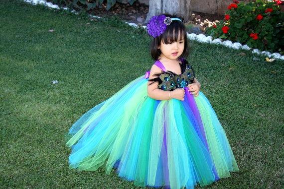 Beautiful peacock costume - etsy!