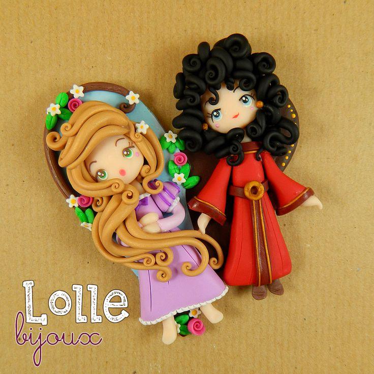Rapunzel e Mother Gothel ♥
