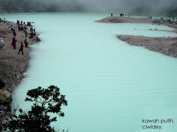 Kawah Putih or White Crater #Bandung West Java