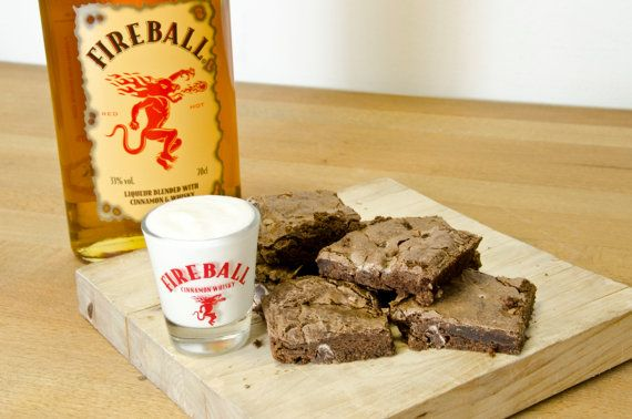 Full Pan of FIREBALL WHISKEY BROWNIES BeST PRiCE on by ArtZodiac