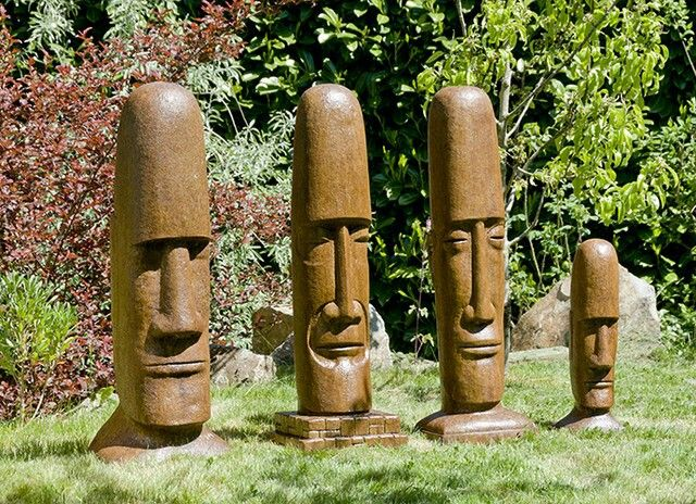 Best images about tiki heads on pinterest totem