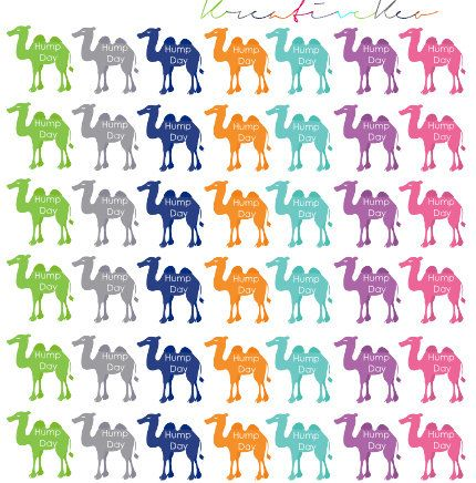 Hump Day Camels 051 by KreativeKeo on Etsy