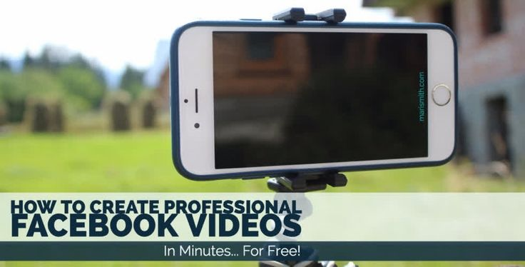 Video gets the most reach and engagement on Facebook. Here's a great article on how to use free apps to create your videos.