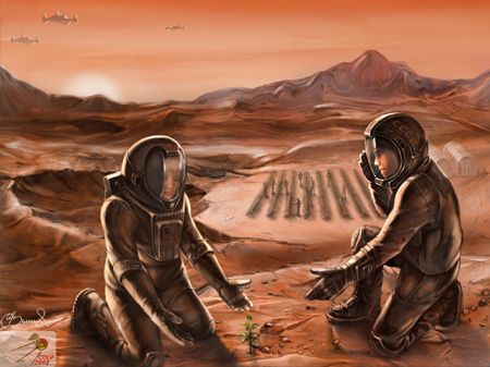 Красный Марс будет зеленным! (СССР-2061)
