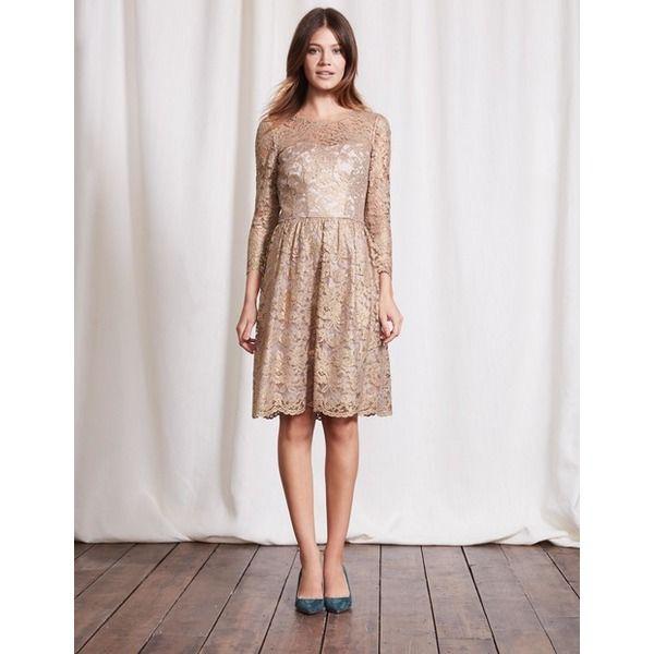 Boden Luxuriöses Kleid aus Spitze Bunt Damen Boden