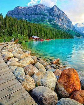 Озеро Луиза , Альберта , Канада