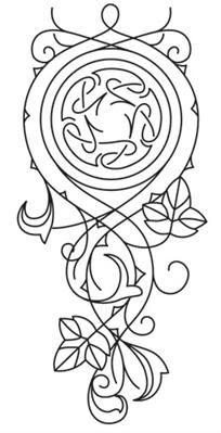Elven Court Knotwork Cascade_image