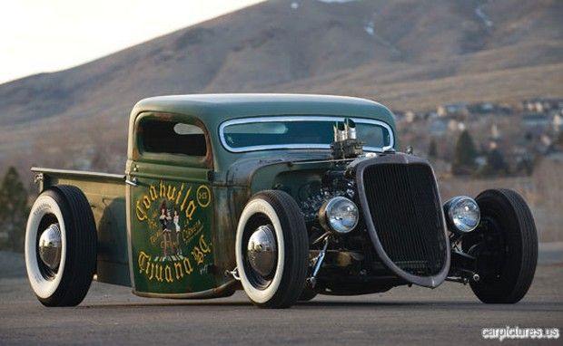 1935 Ford V8 Rat Rod Pickup