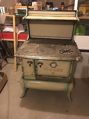 antique magee gas wood coal stove