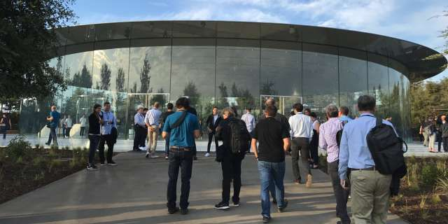 We're covering Apple's big day live at the new Steve Jobs Theater. Here's the latest news from Apple as it announces the iPhone ...