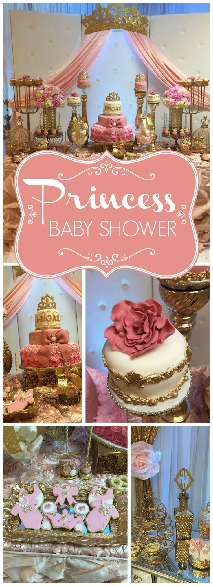 Such a pretty princess baby shower today!