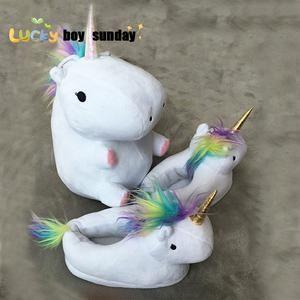 Led Rainbow Unicorn Plush