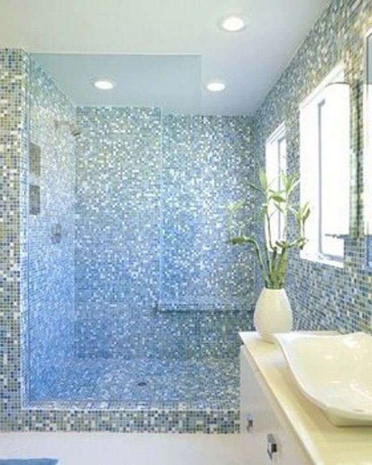 Glass Tile Bathroom Designs 107 Best Tile Images On Pinterest  Bathroom Bathroom Ideas And