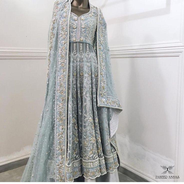 Zaheer Abbas Pakistani couture