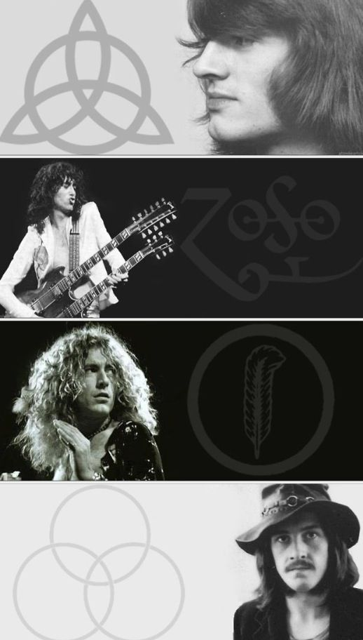 http://custard-pie.com/ Led Zeppelin + Symbols