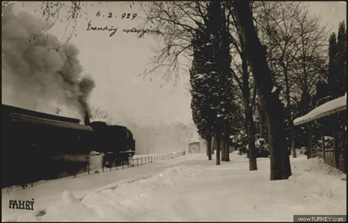 Erenköy Tren İstasyonu, 1929.