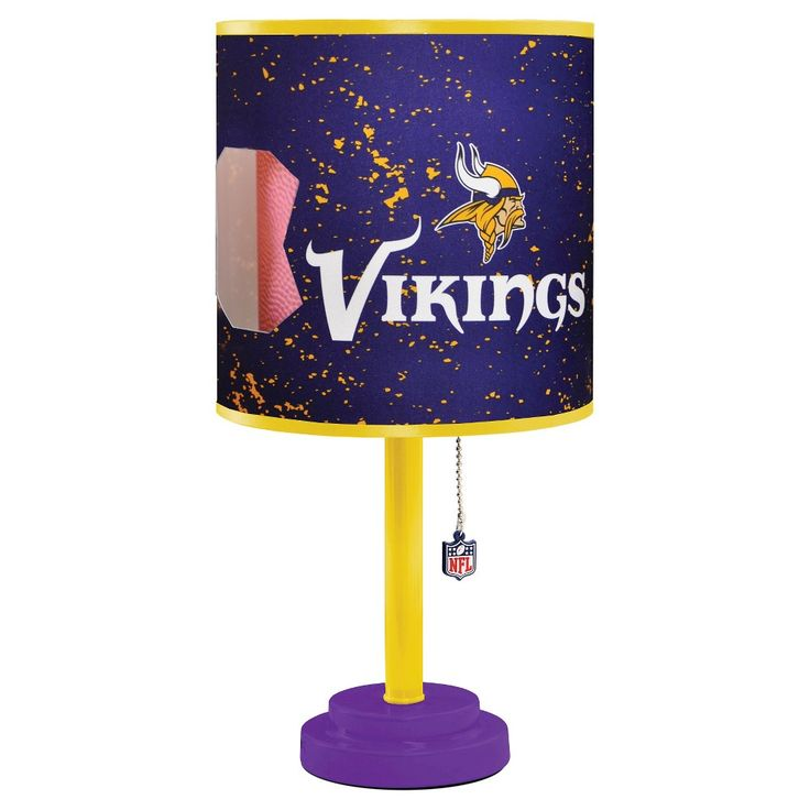 NFL  Table Lamp - Multi-Colored