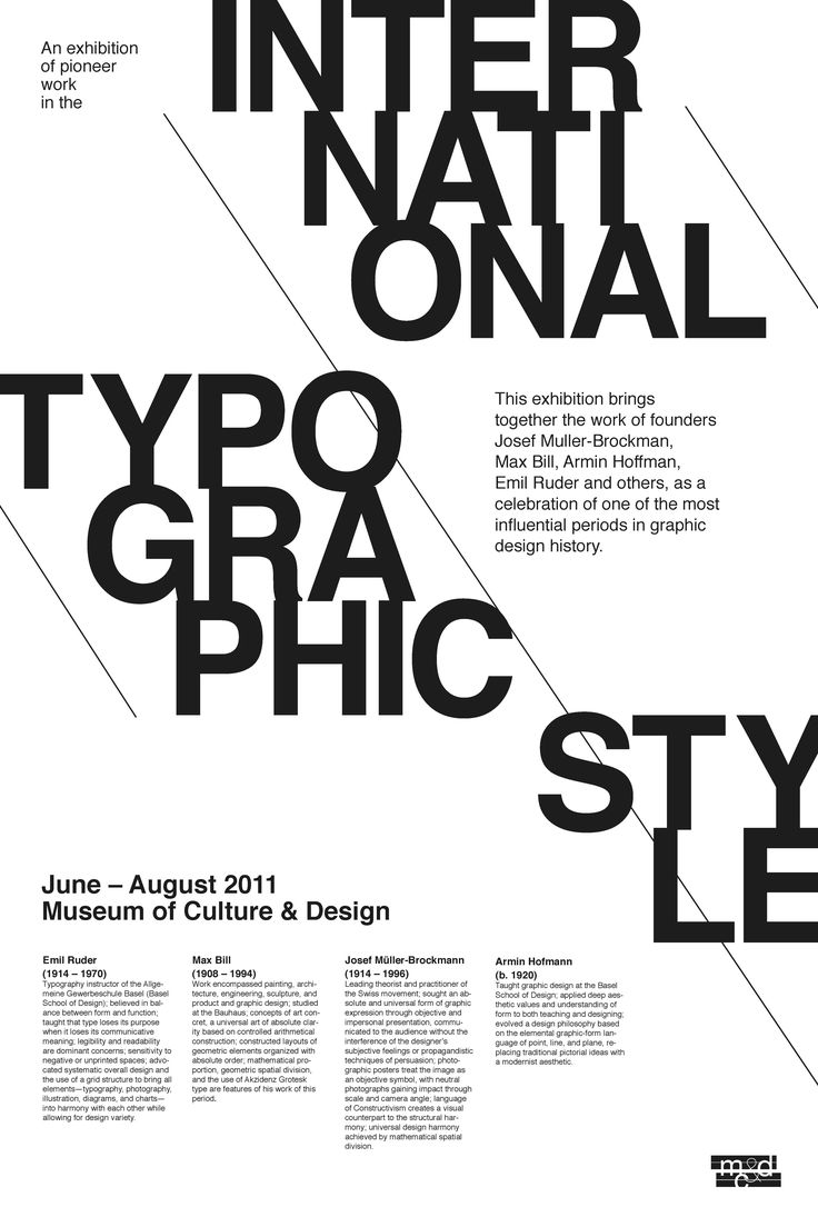 print-inspired typographic layouts