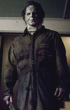 Michael Myers - from Halloween. Terrifying and cheap costume for men. Dirty an old car shop jump suit & buy a mask. Awesome!