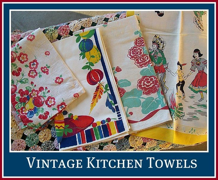 1000 Images About Vintage Kitchen Towels On Pinterest Birds Vintage Fabrics And Vintage