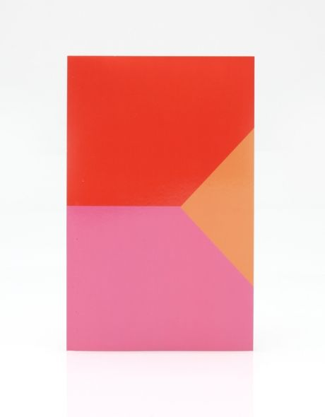 Shapes Notebook in Pink