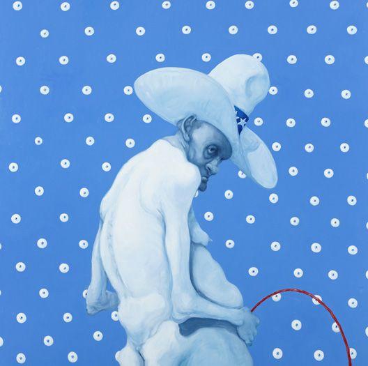 Michael Kvium é um artista dinamarquês muito talentoso, no mercado desde os anos 80. Tanto numa tela, como no papel, no cinema e em suas esculturas, Michael se destaca pelos seus personagens de anatomia bizarra