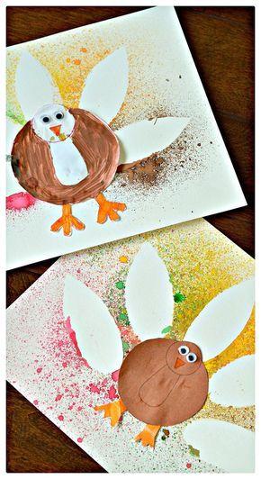 2 ways to create stunning spray painted Turkey Art