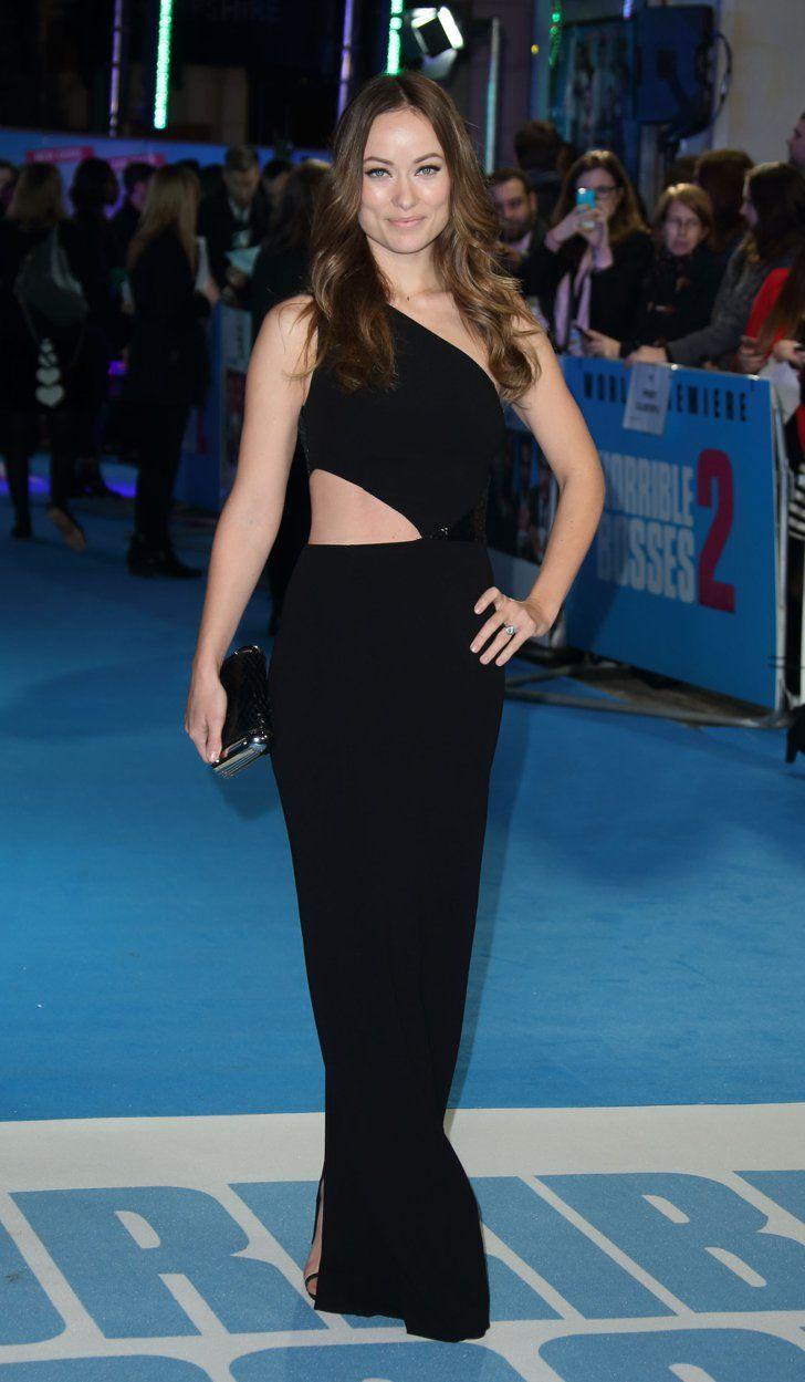 Pin for Later: Les 35 Looks Les Plus Sexys De L'année Olivia Wilde Olivia Wilde dans une robe Michael Kors.