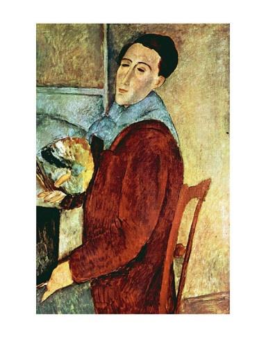 Modigliani self-portrait