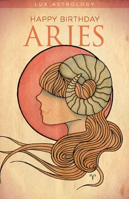 Happy Birthday Aries! Here's your predictive and fashion horoscope this month...