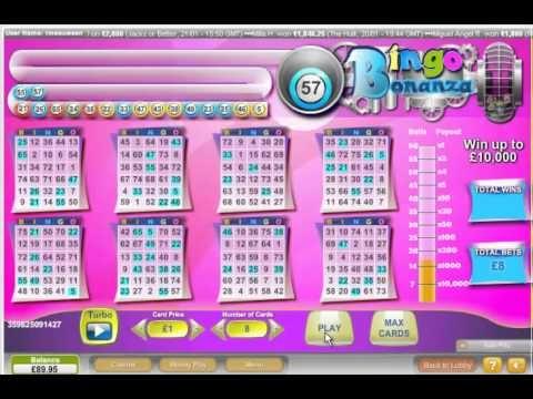 Bingo Bonanaza FREE £5 No Deposit Mega scratch Bonus - Slots Roulette Blackjack & Video Poker