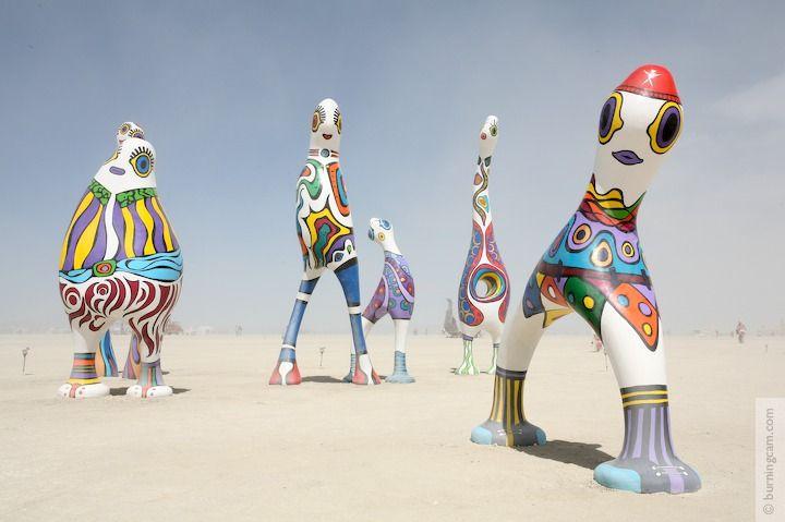 Burning Man 2006 - Monicacos de Esperanza © 1998-2007 NK Guy