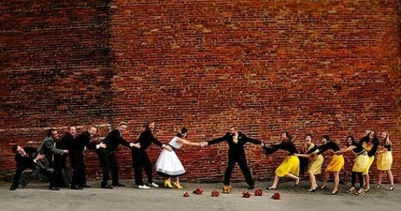 ★☯★ Cutest #wedding photo idea: adorable Bridal Shower party picture of #bride #groom bridemaids & groommen ★☯★  #OMG #Goodies #Stuff #weird #bizarre #Strange #Odd #unusual #Fun #Funny #amazing #inspirational #inspiration #tips #Trick