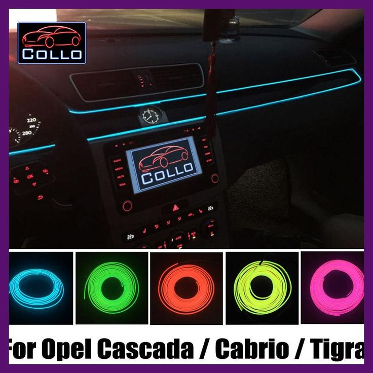 9 best cascada images on pinterest waterfalls autos and badges flexible neon cold light 9 meter el wire for opel cascada cabrio tigra sciox Image collections