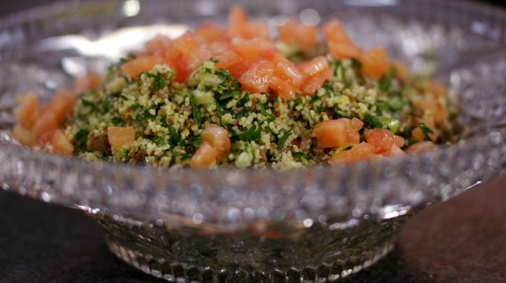 Tabouleh met lamsgehakt en kruiden   Dagelijkse kost