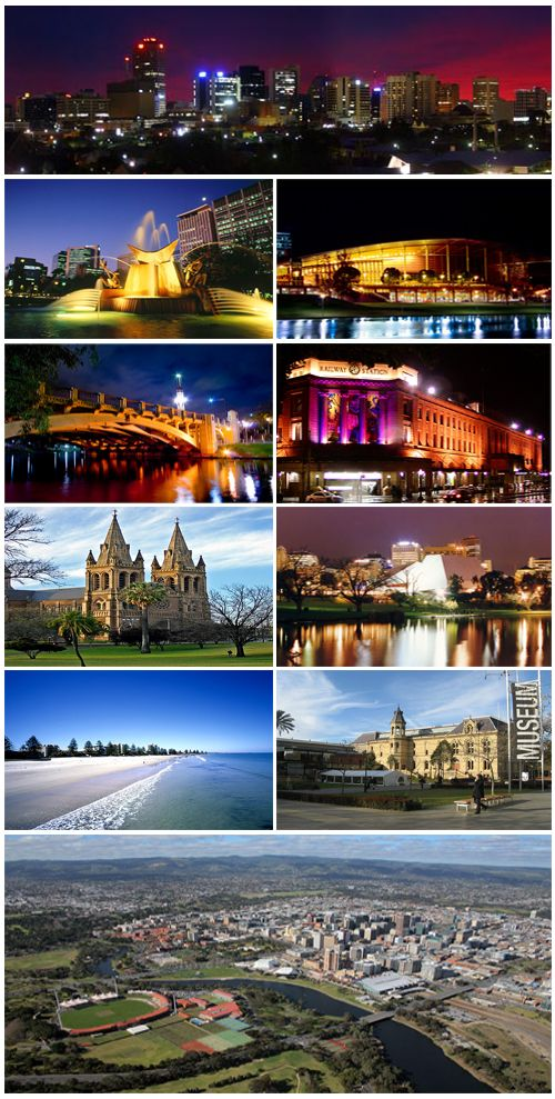 Umm, gorgeous perhaps? What an awesome looking city!!!  Adelaide, South Australia