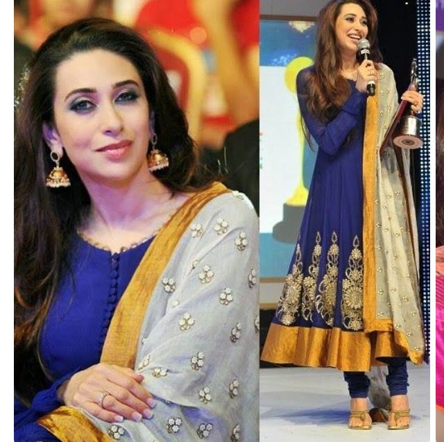 Royal bluse with mustard always awesome