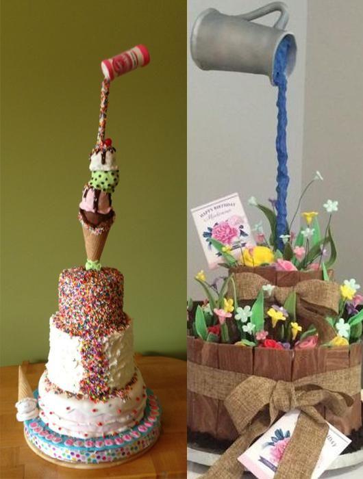 Qu'est-ce que c'est le gravity cake ?
