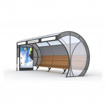 Afbeeldingsresultaat voor modern bus stop