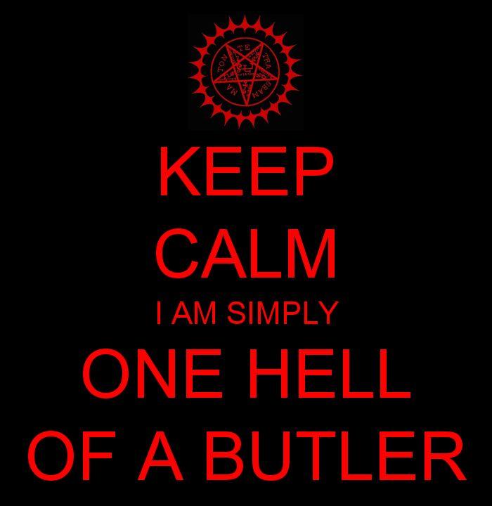 Keep Calm Black Butler by DancingBlackR.dev… on @deviantART