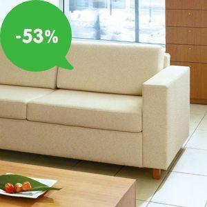 Výpredaj: Lacné sedačky do každej obývačky – zľavy až 53%