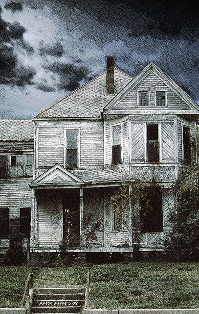 Abandoned house It would love to remodel something like this. Just need a house Good bones and cash to do!